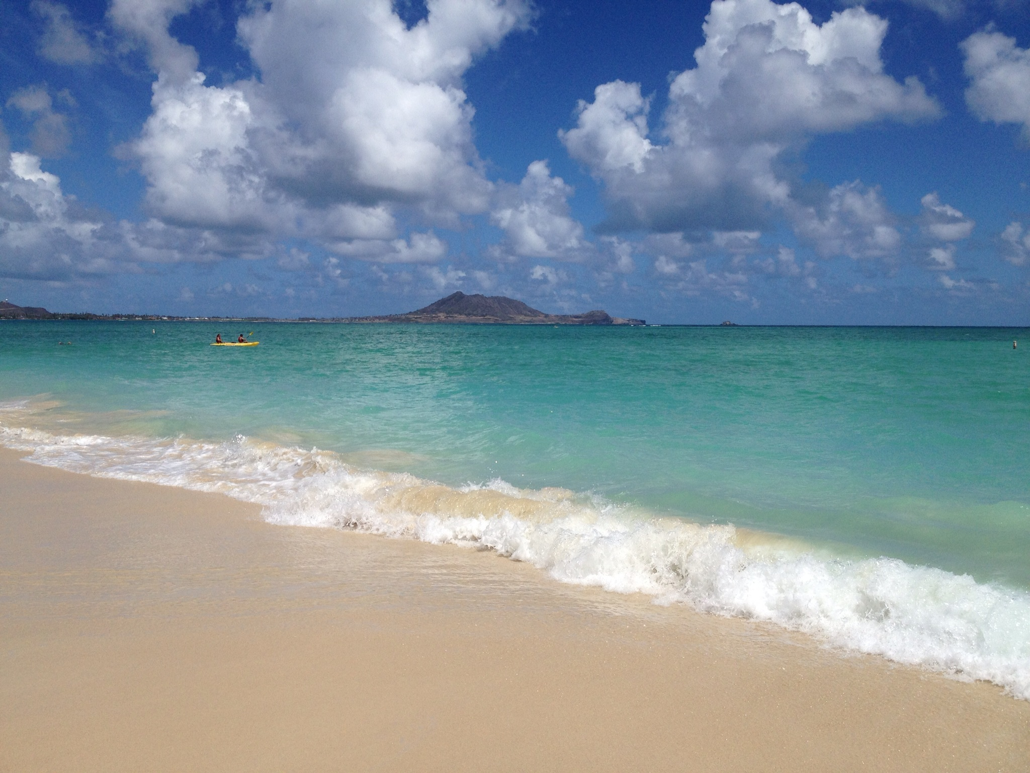 Perfect beach day in Honolulu, Hawaii
