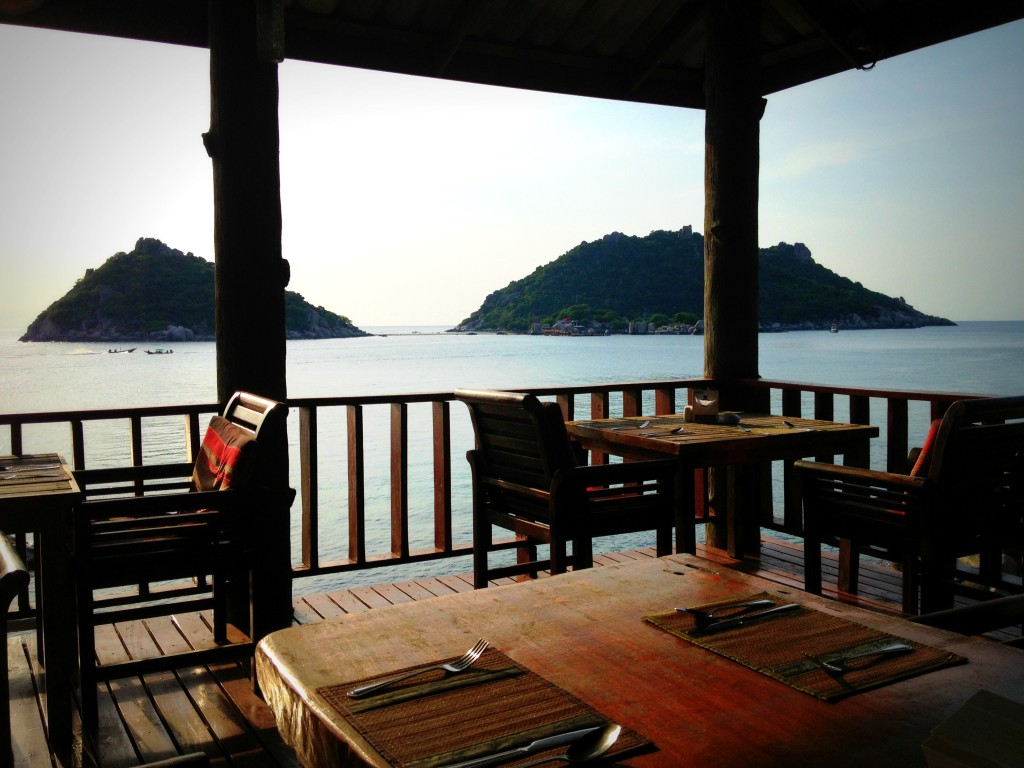 Sunset View Restaurant in Koh Tao, Thailand
