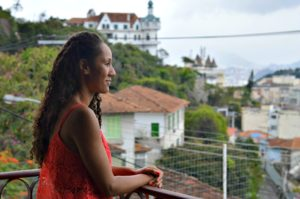 Overlooking Rio from the Villa Teresa Boutique Bed and Breakfast