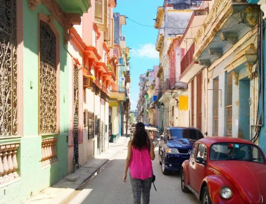 Wending-through-the-streets-of-Havana-Cuba