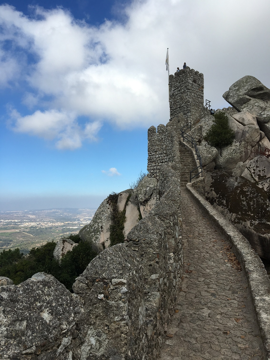 Moorish Castle in Sintra, Portugal