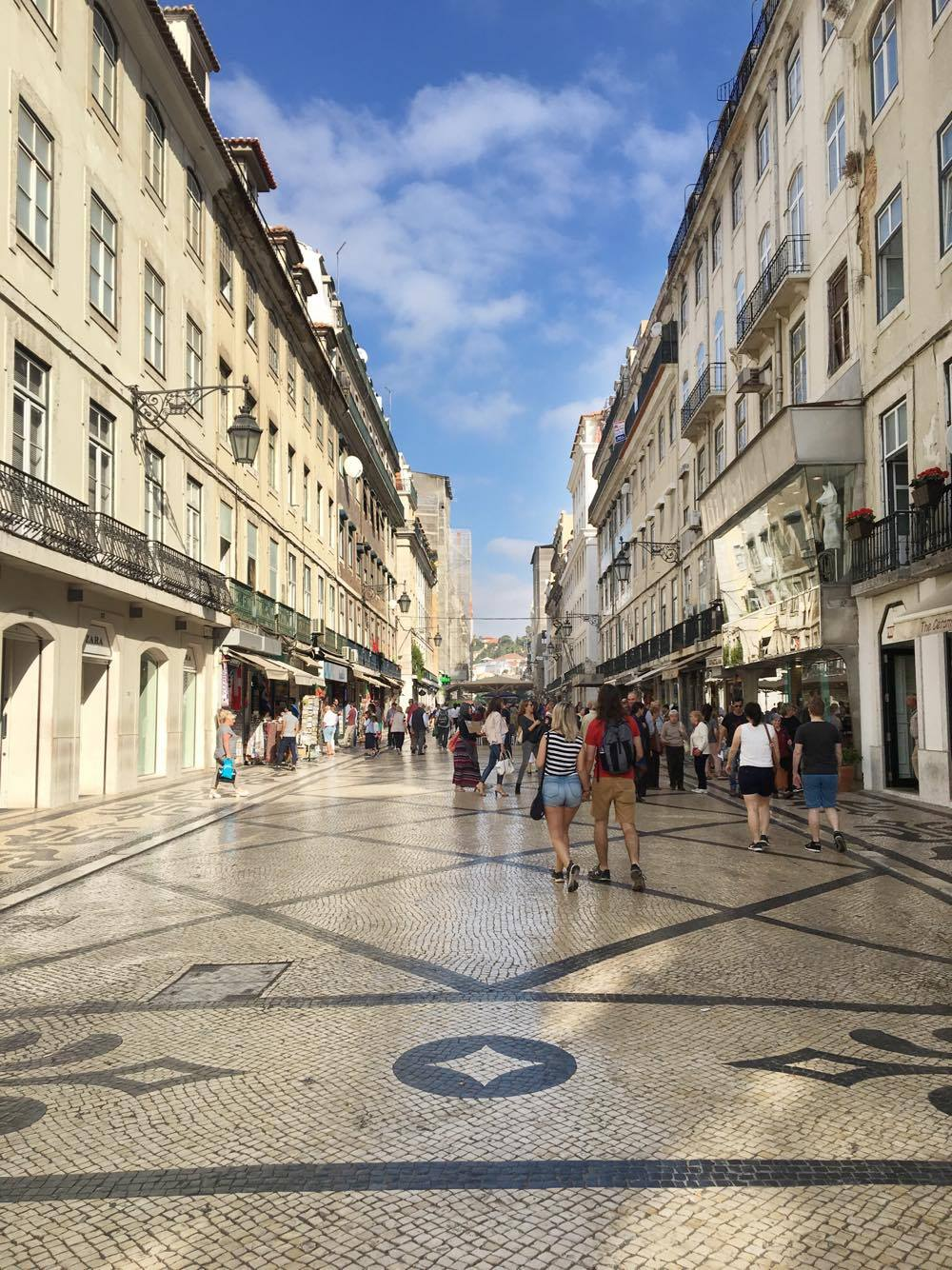Rua Augusta in Lisbon, Portugal