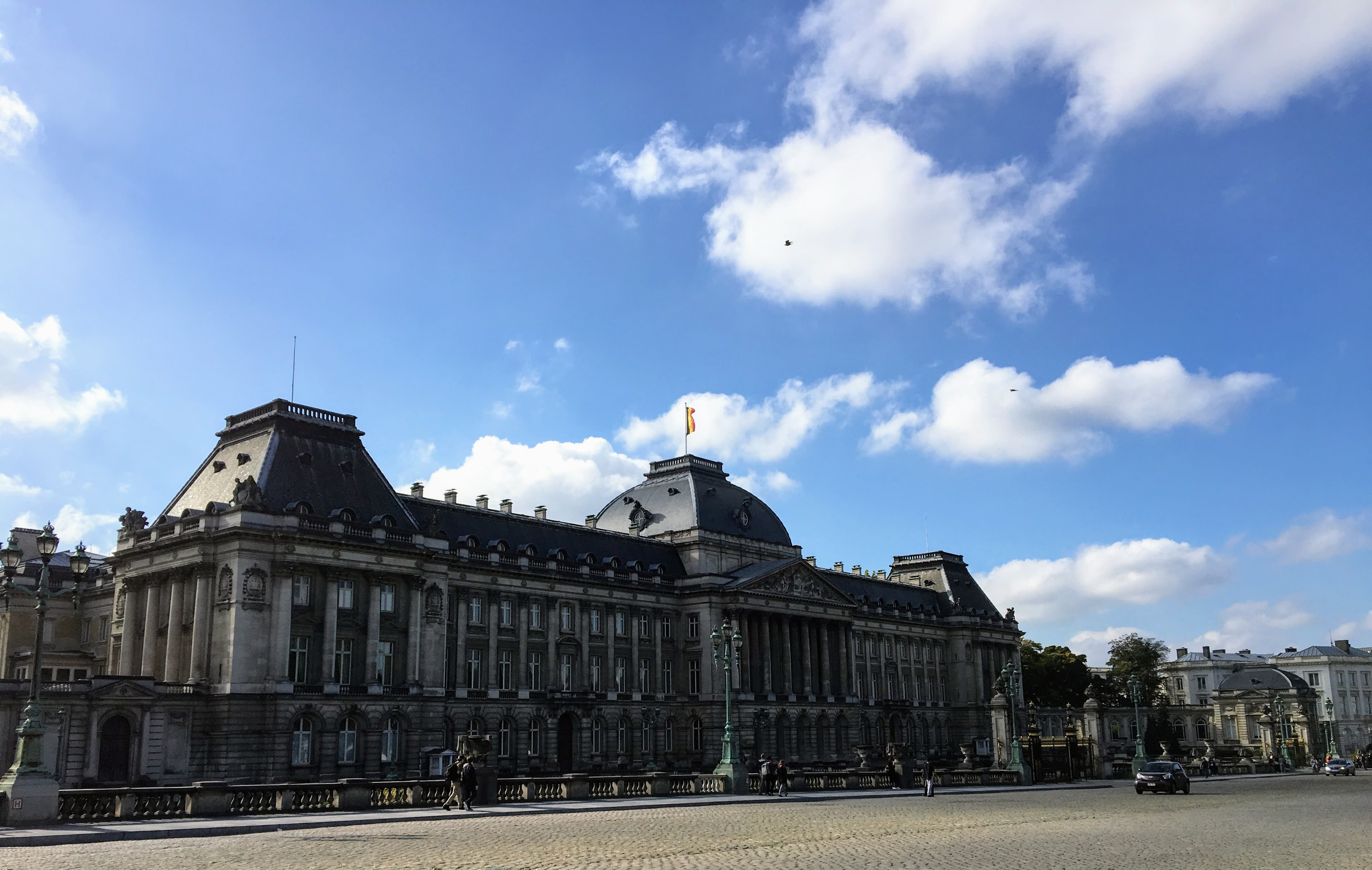 The Royal Palace in Brussels, Belgium