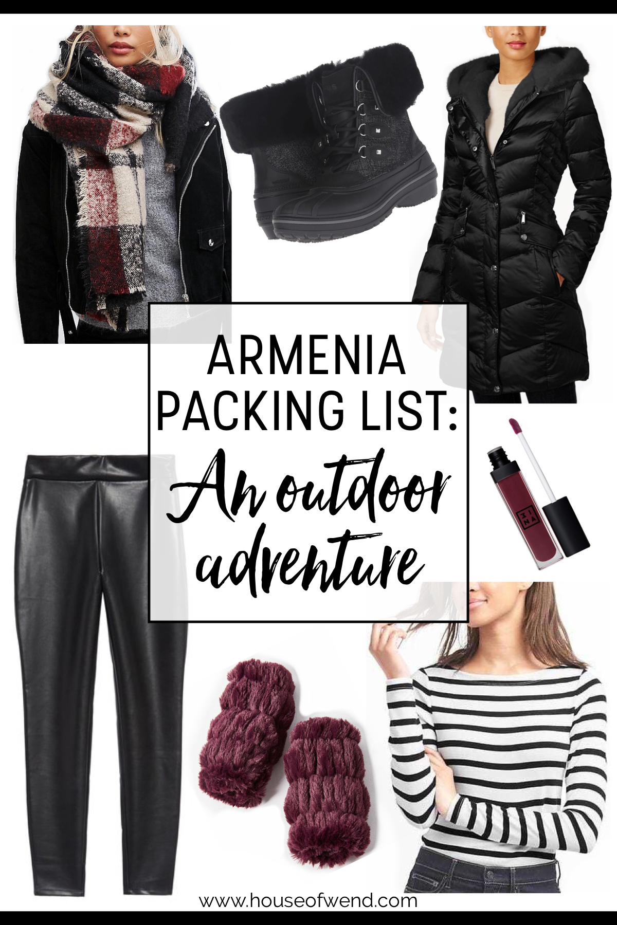 Armenia packing list for an outdoor adventure