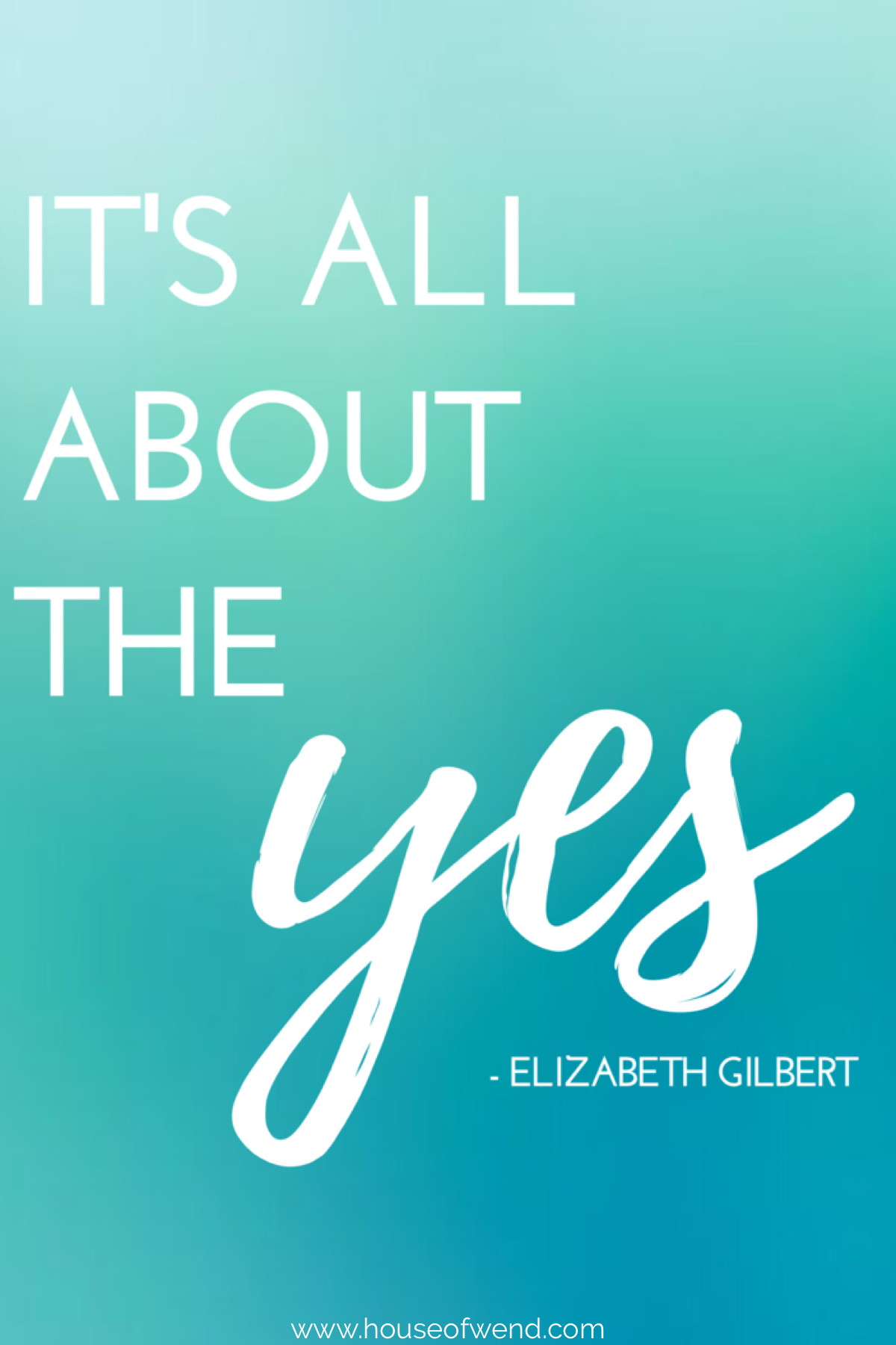 Big Magic Quotes by Elizabeth Gilbert to inspire your creativity